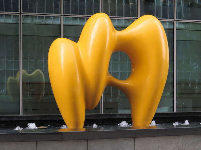 Untitled (Yellow) by Steven Gontarski, One Kingdom Street, PaddingtonCentral, London