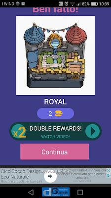 Indovina la carta Royale soluzione livello 45