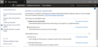 Cara Restore Power Plan yang Hilang di Windows 10