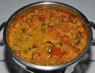 Curried Okra Stew