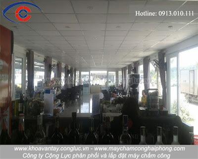 Hình ảnh bên trong nhà hàng Marina - Tuần Châu - Hạ Long - Hải Phòng.