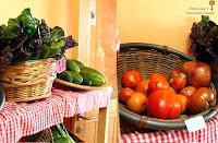 Hortalizas y verduras de cultivo propio