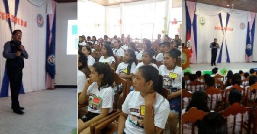 Ministerio Público capacita a alumnos de Enfermería en combate a delitos de violación y trata de personas