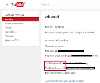 Masukkan Nama Channel Youtubenya