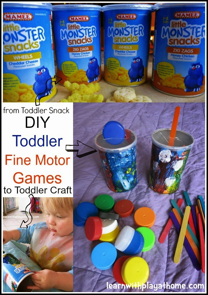 Diy Toddler Boy Haircut: Learn With Play At Home: DIY Fine Motor Activity For