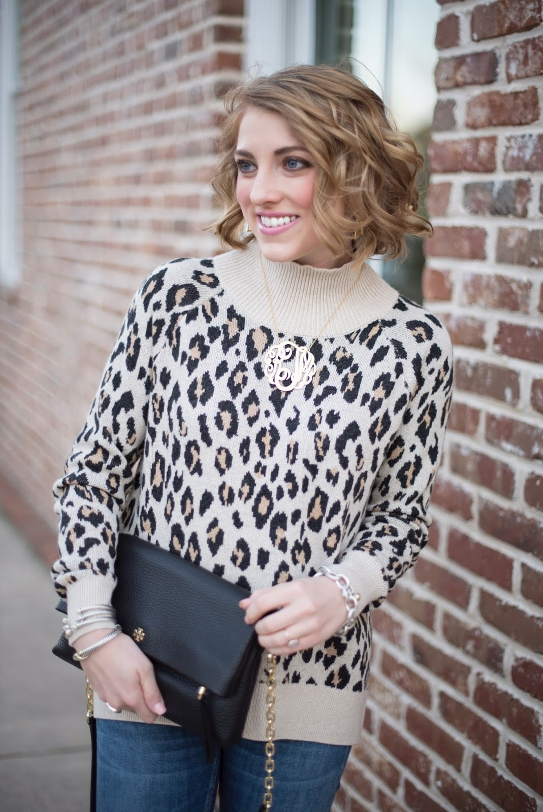Leopard Sweater - Something Delightful Blog