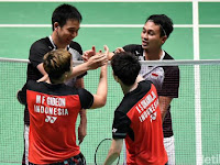 Indonesia sent 26 representatives at the Thailand Open, Jonatan and Anthony