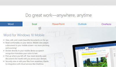 Download MS Office mobile