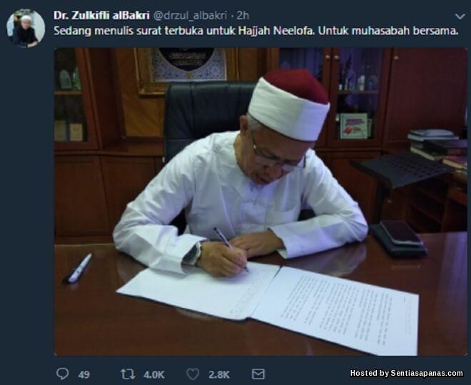 Surat Mufti Untuk Neelofa Selepas Pelancaran Hijab Terbaharu Di Kelab Malam!