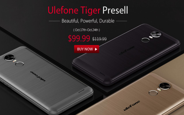 ¡Chollo! Ulefone Tiger más barato en preventa por solo $99