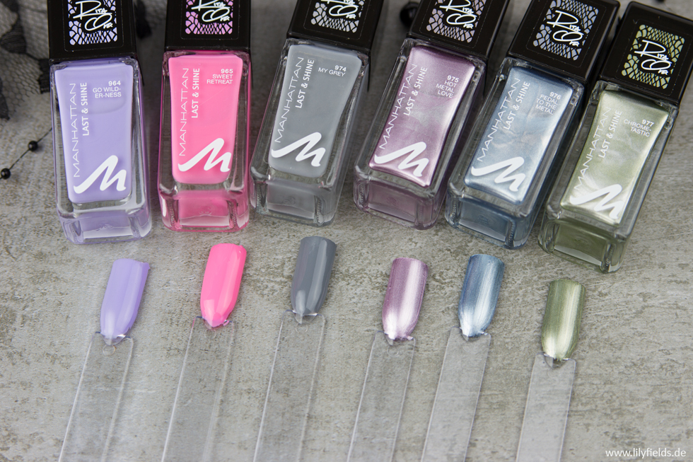 Last & Shine Nail Polish Chameleon Colour Collection by Rita Ora