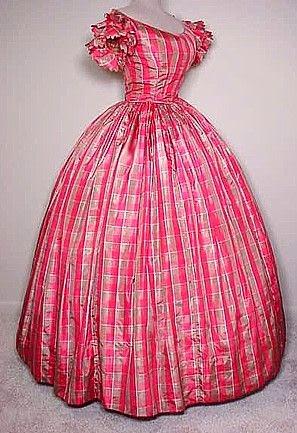 Civil War Ball Gown 87