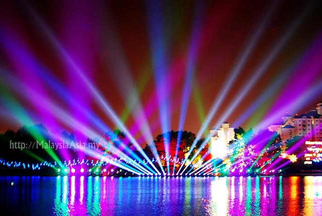 Putrajaya Magic of the Night