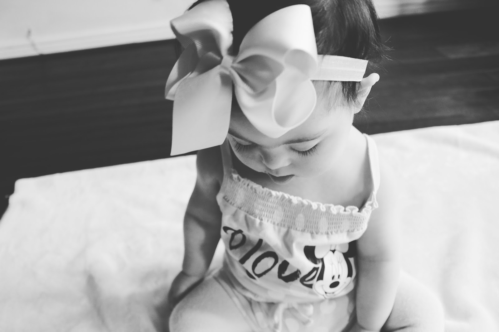 Rebecca Hollick : 1st Birthday Letter to Leia from Mummy & Daddy