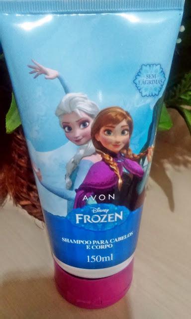 Achegue-se! Colônia, Shampoo e brilho labrial - Avon Disney - Frozen