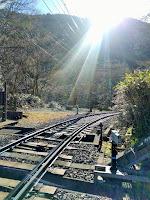箱根登山鉄道の線路