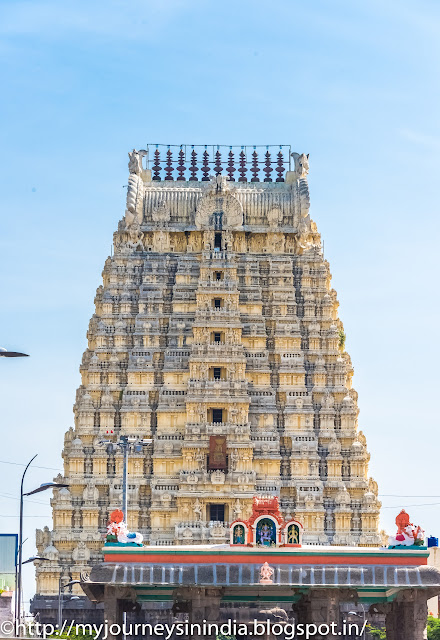 kanchipuram Ekambareswarar Temple Tower