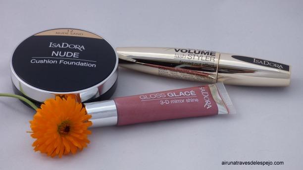 maquillaje isadora gloss mascara pestañas