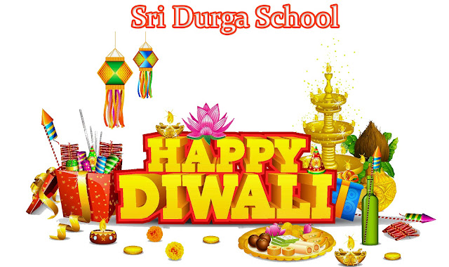 Diwali Wishes from Sri Durga School 2016 - 17