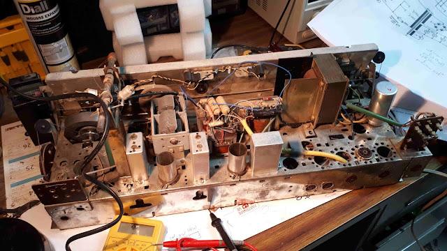 Rénovation TSFgrundig 4298 Stéréo  tuto facile pour les nuls