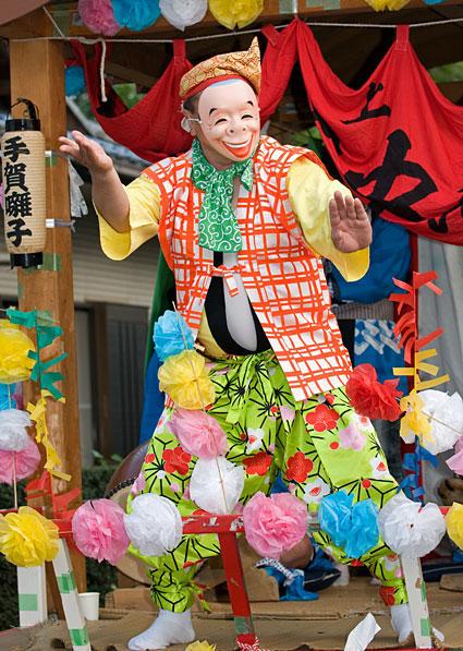 Tega-bayashi (Summer Festival; Anbasama) at Kashiwa City, Chiba