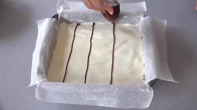 حلوة الرخامة بالشكلاط من حلويات العيد 2018