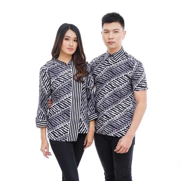 10 Koleksi Model Baju Batik Couple Terbaru Paling Modis 2019