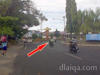 sekitar Bank Indonesia dan Kantor Dispenda Lampung