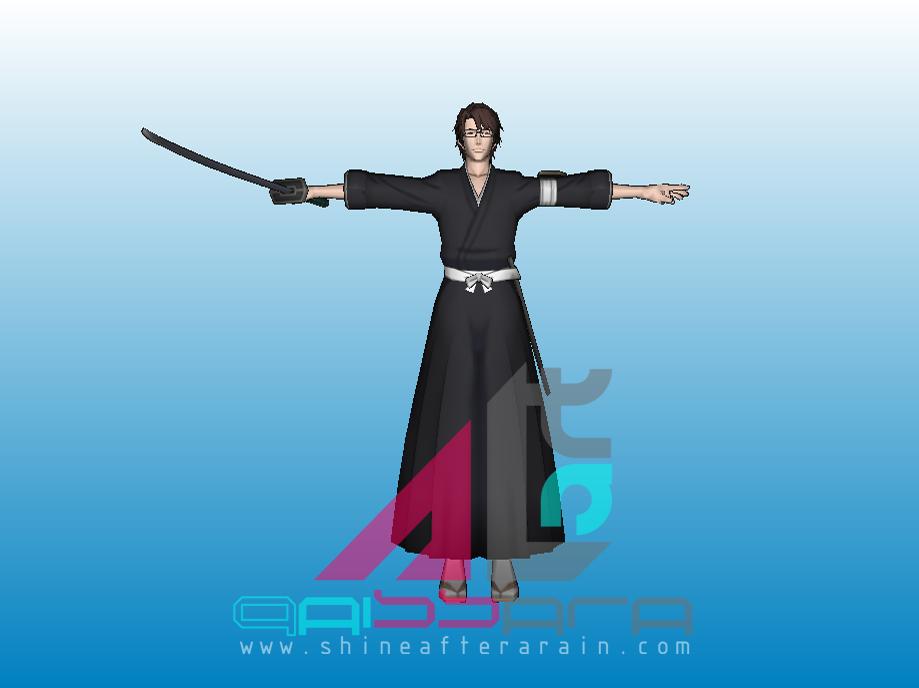 Sosuke Aizen   3D Model Bleach