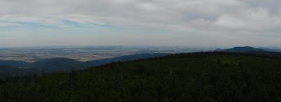 Południowo-wschodnia panorama.
