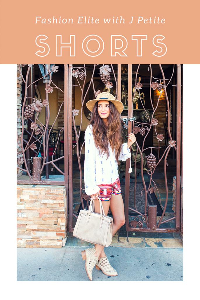 f0d882521d7 J Petite  Fashion Elite with J Petite Linkup - Shorts