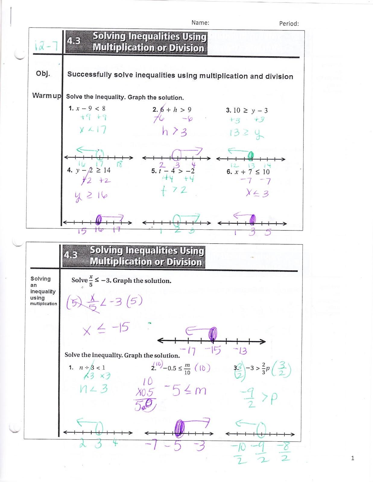 Ms Jean S Classroom Blog 4 3 Solving Inequalities Using