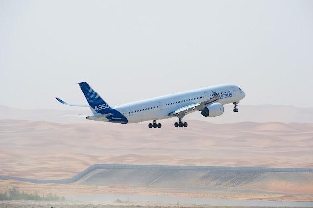 A350 XWB MSN3 Flight Test on Hot Weather Condition in UAE
