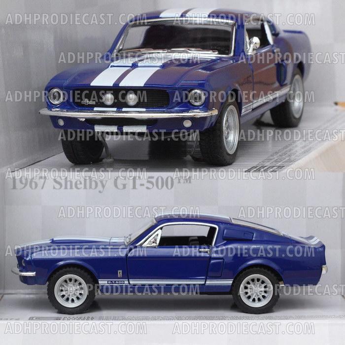 Miniatur Shelby GT-500 1967 (Blue-32K)