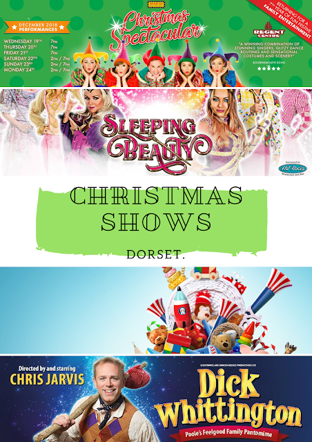 Christmas shows Dorset Hampshire