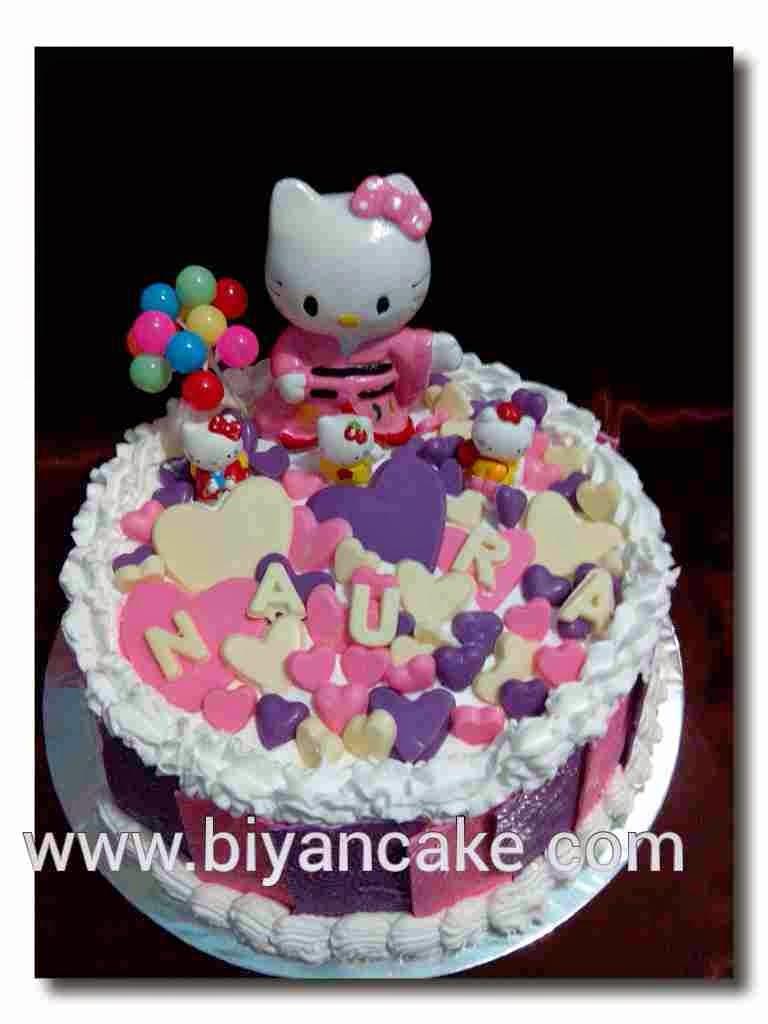 Biyancakes Toko Kue Di Bekasi Kue Tart Hello Kitty Naura