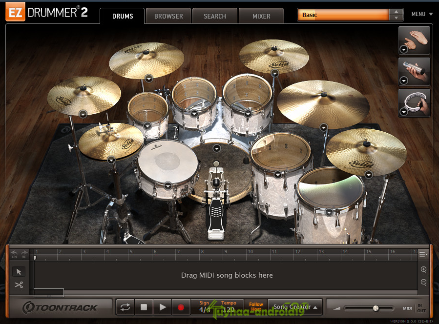 EZDrummer 2 and All Expansions With UPDATES