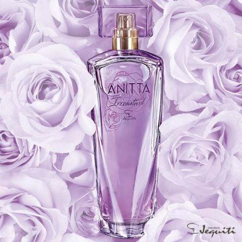"Jequiti apresenta o novo perfume da cantora Anitta, ""Anitta Irresistível"""