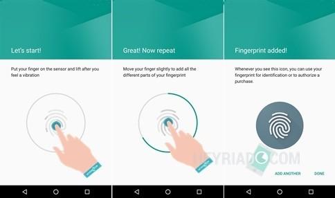 Cara Mengaktifkan Sidik Jari Android Marshmallow