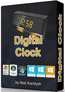 Digital Clock 4.5.1 (x86/x64) Stable + Portable