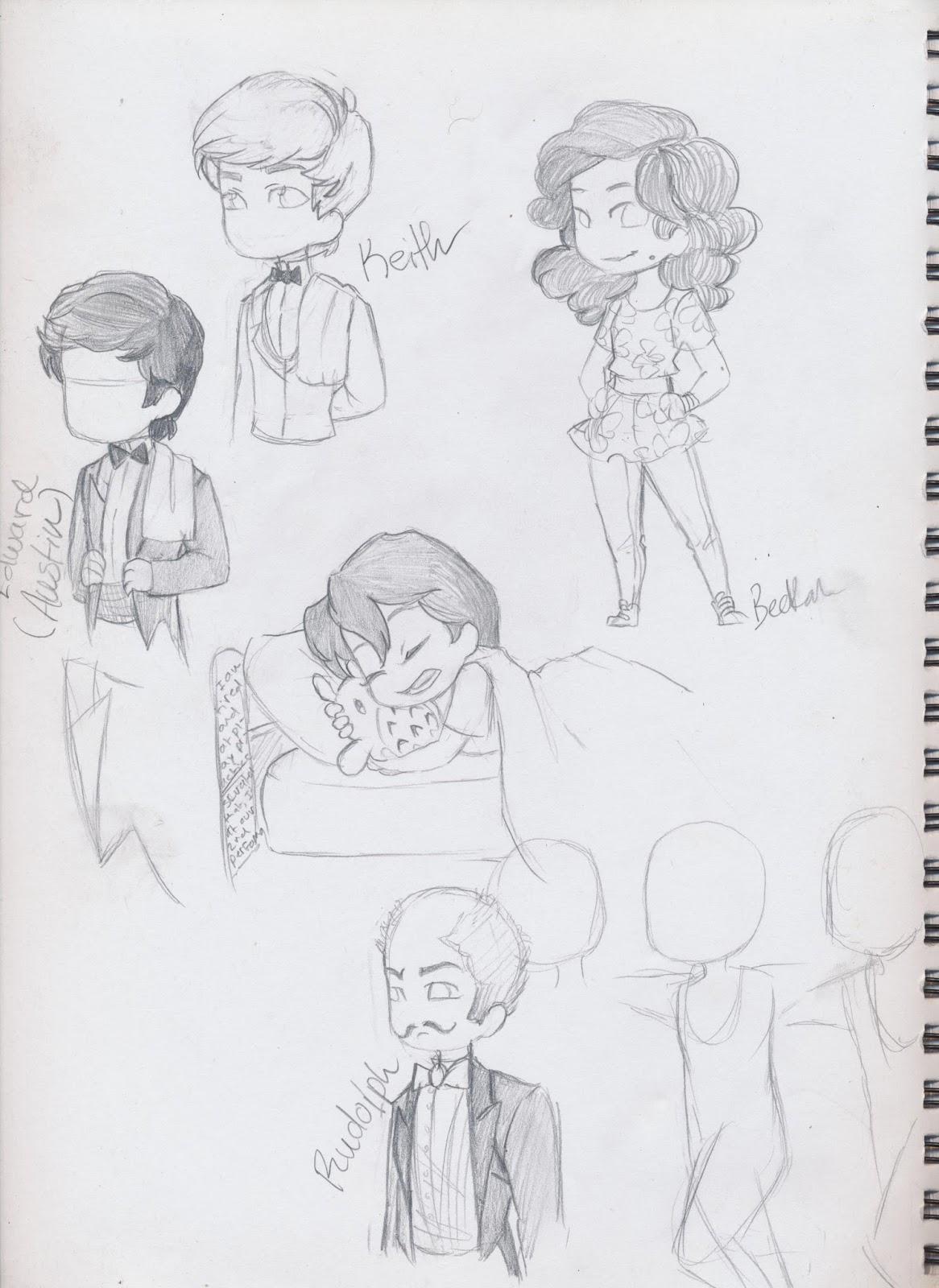 Manga Interest: Manga poses I've drawn recently(ish)