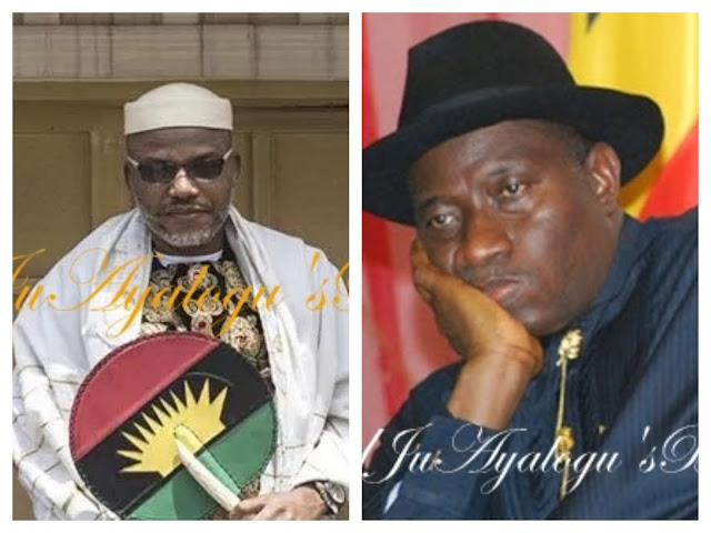 Jonathan Was A Weak And Incompetent Leader, His Wife Would Have Ruled Better – Nnamdi Kanu