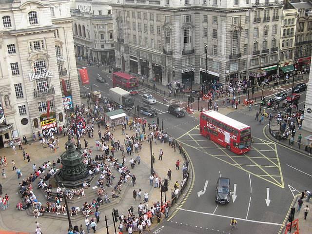 Piccadilly em Londres