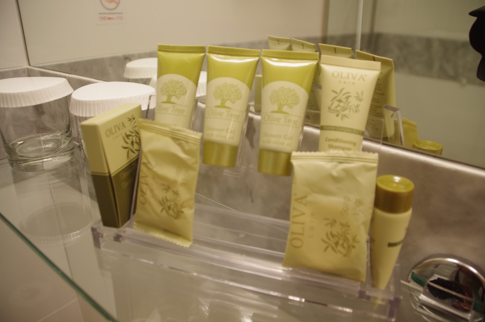 The Herodion Hotel Toiletries