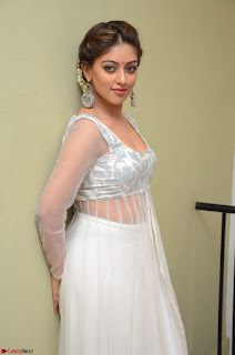 Anu Emmanuel in a Transparent White Choli Cream Ghagra Stunning Pics 071.JPG
