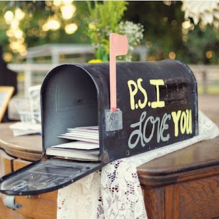 wedding card mailbox holder