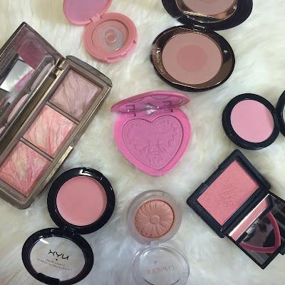 blush beauty blogger tag