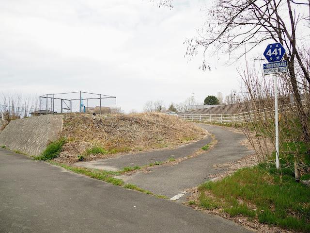 あづみ野やまびこ自転車道入り口