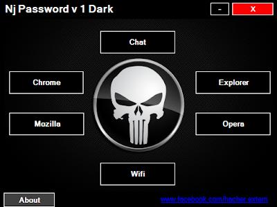 Nj-Passwords v1 por Cavaleiro das Trevas