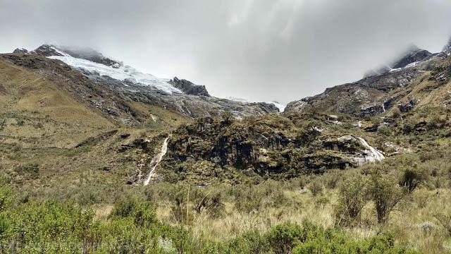 cordillera blanca, nevados, glaciares